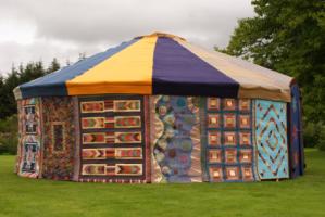 Linzi's yurt